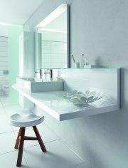 Łazienka, meble łazienkowe Delos