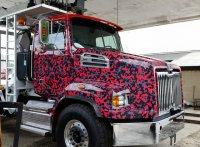 samohód ciężarowy