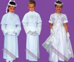 Ubrania na pierwszą komunię